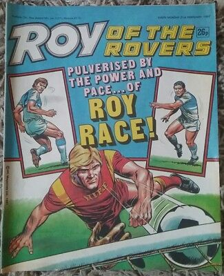 Roy Of The Rovers 21st February 1987