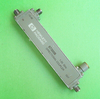 Used Good HP 87300B 1-20GHz 10dB SMA Directional Coupler #ship EXPRESS