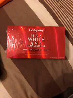 Colgate Max White One Professional Whitening System Rrp £200