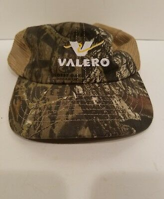 Vintage Style Valero Truck Stop Store Gas Oil Trucker Hat Mesh adjustable 6d226ccb625a