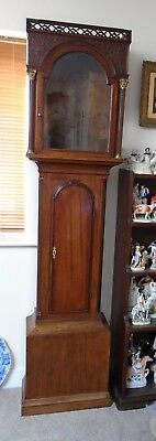 Mahogany Longcase Clock Case (accepts 18x13 Inch Dial) c1770 - Possible Delivery