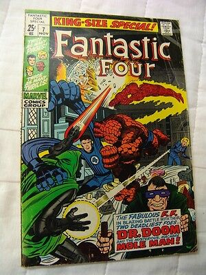 FANTASTIC FOUR KING SIZE ANNUAL 7 (silver age)
