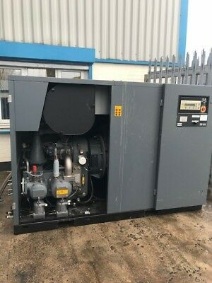 Atlas Copco ZR132 7.5 bar oil free air compressor and MD dryer and HD aftercool