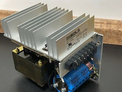 NEW Sola 83-24-260-03 DC Power Supply; Input: 120/240 VAC, Output: 24 VDC @ 6 A