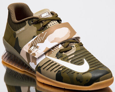 268724fbdd06 Nike Romaleos 3 Men New Weightlifting Shoes Mens Training Olive Sail  852933-300