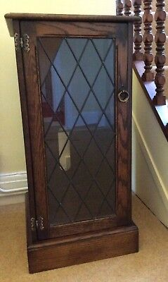 Traditional Reproduction Antique Stereo / HiFi Cabinet in Solid Oak