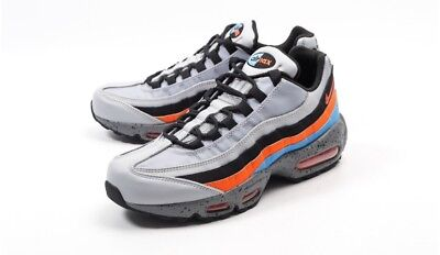 competitive price 7306a 3540a Nike Air Max 95 PRM Mens Shoe Uk Size 12 Limited Edition Rare Colour Wolf  Grey