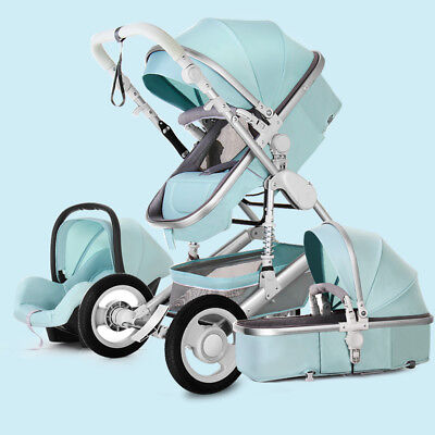 new Baby Stroller 3 in 1 travel system Bassinet travel jogger Pushchair&Car Seat