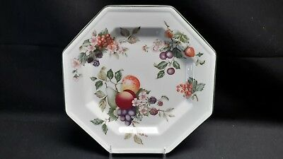 Johnson Brothers Made In England A05255 Fresh Fruit Octagonal Dinner Plate
