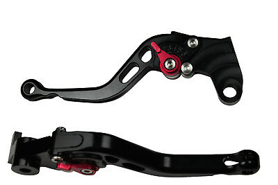 Black Short Motorcycle Clutch Brake Levers for Honda  CBF1000 / A 2012 Red