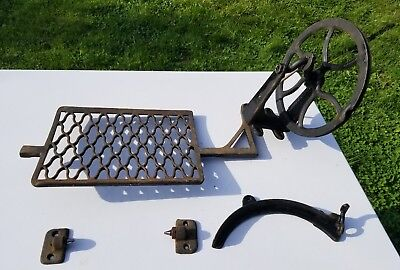 Cast Iron Treadle for a Vintage Sewing Machine Steam Punk