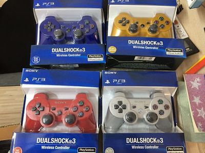 NEW PS3 Dualshock Wireless Bluetooth Controller For Sony Playstation ChooseColor