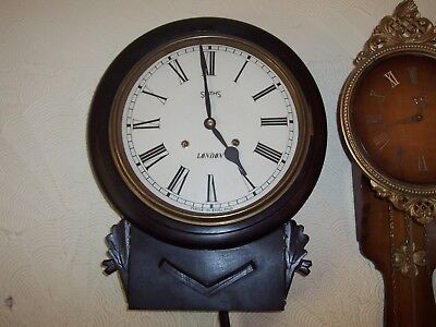 Antique And Vintage Restored Time And Strike Wall Clock.