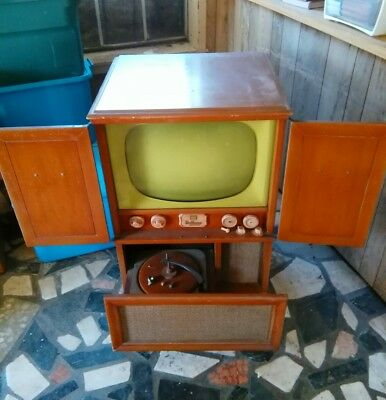 Rare..1953 Hoffman  Television/radio Easy Vision All In One...
