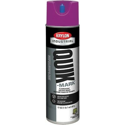 Krylon Solvent Based Inverted Utility Marking Paint, Purple (12 Cans)