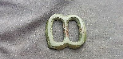 Superb Medieval Bronze buckle uncleaned condition found in England. L15z