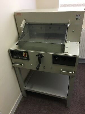 Ideal 4850A electric guillotine