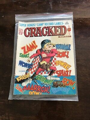 CRACKED  No.53 1966 Superhero Cover Good Condition Stain On Cover