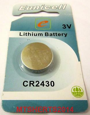 CR2430 Eunicell 3v Lithium Button Coin Cell Battery Batteries DL2430  RX4