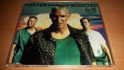 Scooter - Faster Harder Scooter (Maxi-CD) (4009880668856)