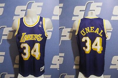 3579090f6 Los Angeles Lakers  34 O Neal Size L NBA Champion jersey shirt Basketball  Oneal