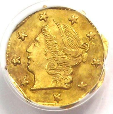 1870 Liberty 25C California Gold Quarter Coin BG-713 - PCGS MS64 - $600 Value!