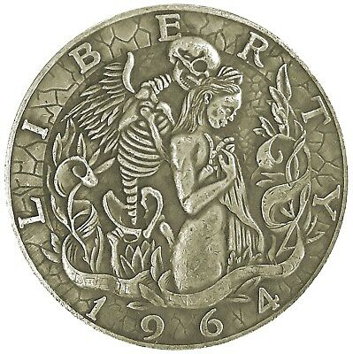 Liliths Seduction Half Dollar Head Tail Good Luck Token Challenge Coin FAST S/H