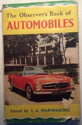 The Observers Book Of Automobiles 1965