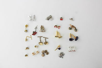 Lot of 36 x Vintage Mixed Gents Jewellery Inc. Cuff-Links, Tie-Clips & Gem Set