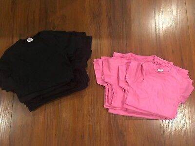 LAT Girls' Fine Jersey Tee - 2616 (selling as LOT of various size/colors)