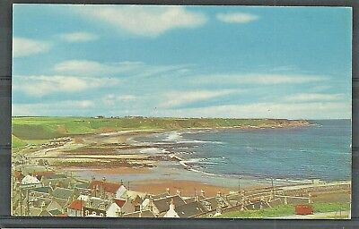 Postcard  :  Seatown rooftops to Cullen Bay Banffshire