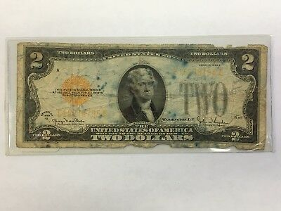 1928 G Two Dollar Note