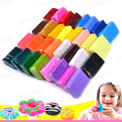 32 Colors Soft Polymer Plasticine Effect Clay Blocks DIY Craft Art Toy for Kid
