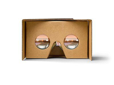 GOOGLE CARDBOARD VIRTUAL REALITY 3D GLASSES VR BOX FOR ANY iPHONE & ANDROID USED