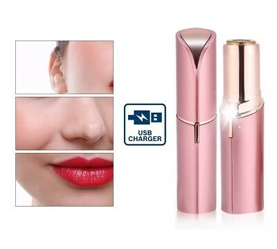 NEW Facial Hair Removal USB Rechargeable Finishing Touch Pain Free Hair remover