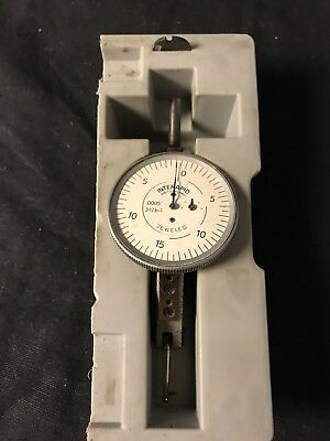 "Interapid 312B-1 Dial Test Indicator .0005"" Swiss Made Excellent Cond."
