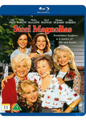Steel Magnolias NEW Cult Blu-Ray Disc Herbert Ross Sally Field Julia Roberts