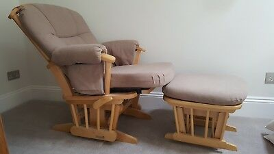 Dutailier nursing / rocking chair and foot stool