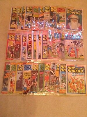 Roy of the Rovers Comics 1976 to 1983 ( x 32)
