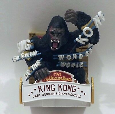 King Kong The 8th Wonder of the World Ornament with Lights and Sound