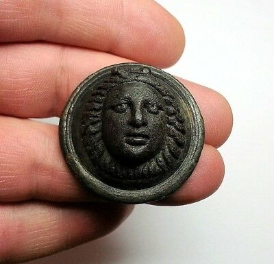 Ancient Greek Thrace Roman application of Medusa Gorgon about 4th 1st century BC