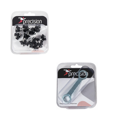 Precision Football Rugby Boot Studs Screw in Super Pro Alloy Tips With Stud Key