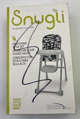 Snugli High Chair Style Set - Camo Your Style Your Way
