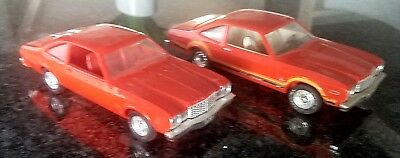 2 Original 1978 Plymouth Orange Roadrunners dealer promo cars Awesome 70s Cool!