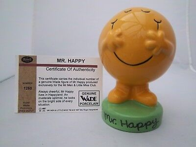 WADE MR HAPPY by ROBELL MEDIA PRODUCTIONS 1997 -  Excellent condition