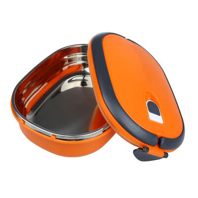 Eco-friendly Single Stainless Steel Insulation Lunch Bento Box Food Container