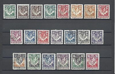 NORTHERN RHODESIA 1938 SG 25/45 USED Cat £170