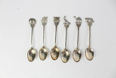 Lot of 6 x Vintage .925 STERLING SILVER Spoons Mixed -48g