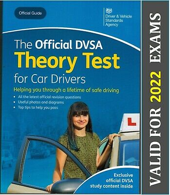 Official Driving Theory Test Book for Car Drivers DSA DVSA DVLA L 2020 - ThryBK