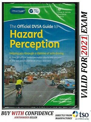 Official DVSA Guide to Hazard Perception DVD-ROM VALID FOR 2019 test - Hzrd